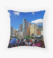 Our Colorful World Throw Pillow