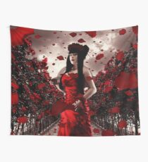 Rose Tempest Wall Tapestry