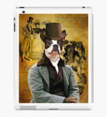 Boston Terrier Art - Gentleman iPad Case/Skin