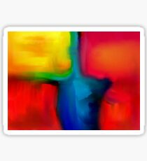 Abstract 3 Sticker