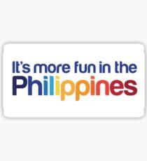It's more fun in the Philippines Sticker