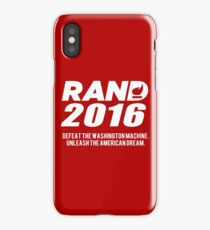 Rand Paul 2016 iPhone Case