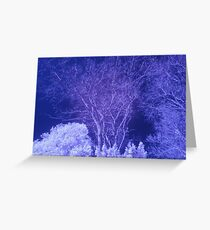 ir vision Greeting Card