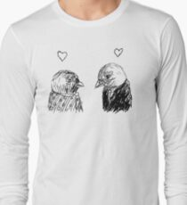 birdie love Long Sleeve T-Shirt