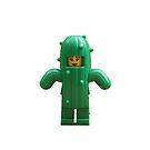 Lego Cactus Girl by jenni460