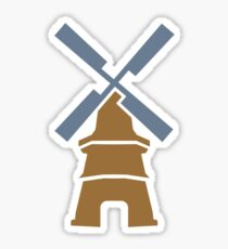 Windmill Sticker