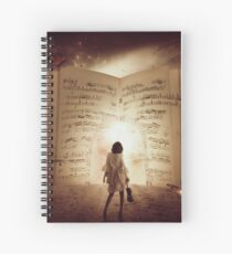 Music Portal Spiral Notebook