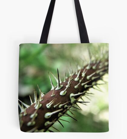 Ouch! That's A Lot Of Thorns! Tote Bag