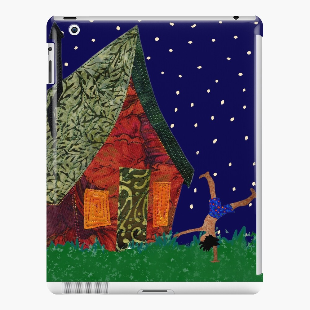 Cartwheels on a starry night iPad Snap Case