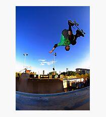 Tony Hawk - Monster Skate Park Photographic Print