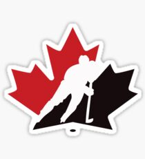 canada hockey Sticker
