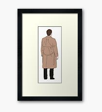 Castiel - Supernatural Framed Print