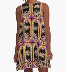 The Magical Lotus Emanation A-Line Dress