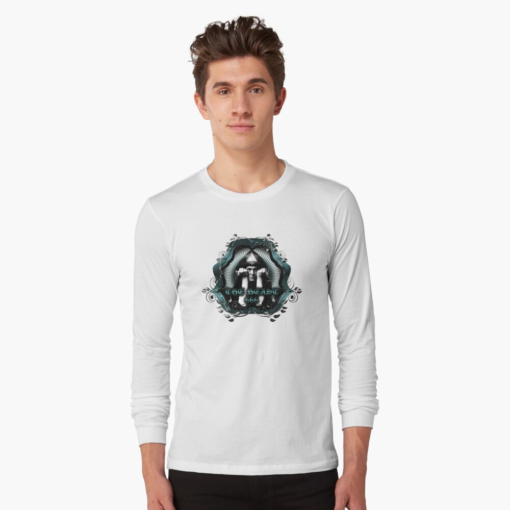 THE BEAST 666 Long Sleeve T-Shirt Front