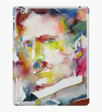 NIKOLA TESLA - watercolor portrait.10 iPad Case/Skin