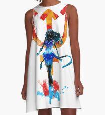 neptune splash A-Line Dress