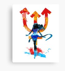 neptune splash Canvas Print