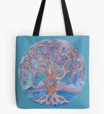 Mandala- tree of life Tote Bag