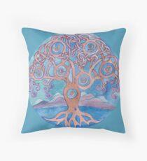 Mandala- tree of life Throw Pillow