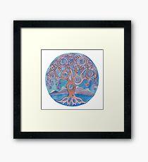 Mandala- tree of life Framed Print