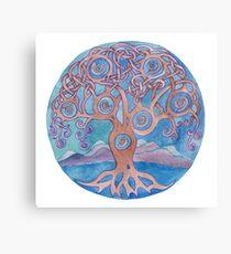 Mandala- tree of life Canvas Print
