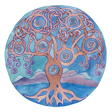 Mandala- tree of life by balnacra