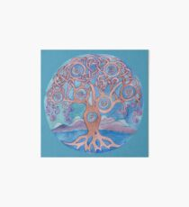 Mandala- tree of life Art Board