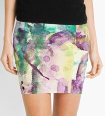 A little purple heart Mini Skirt