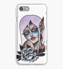 White Walker Fey Vampire  iPhone Case/Skin