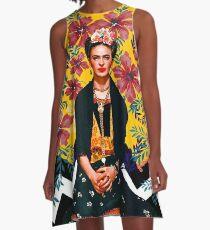 Frida Tropical A-Line Dress