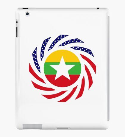Myanmar American Multinational Patriot Flag Series iPad Case/Skin