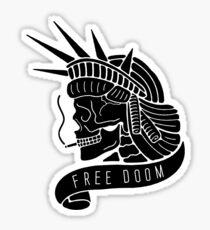 Free Doom Sticker