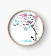 sakura delicious Clock