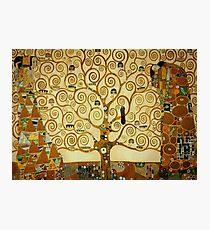 Gustav Klimt The Tree of Life Photographic Print