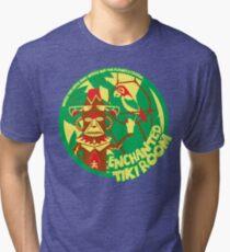 Das verzauberte Tiki-Zimmer (grün, rot, gelb) Vintage T-Shirt