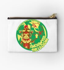 The Enchanted Tiki Room (green, red, yellow) Zipper Pouch