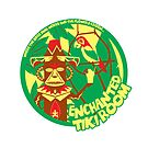 The Enchanted Tiki Room (green, red, yellow) by clockworkmonkey