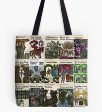 The Works Of Shakespeare Tote Bag