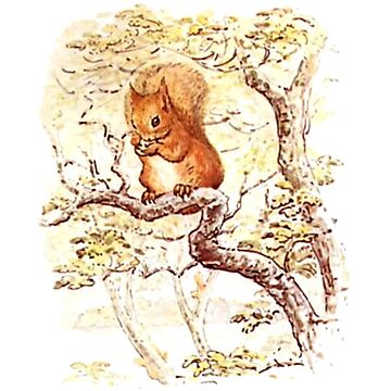 Squirrel Nutkin. Beatrix Potter by TOMSREDBUBBLE