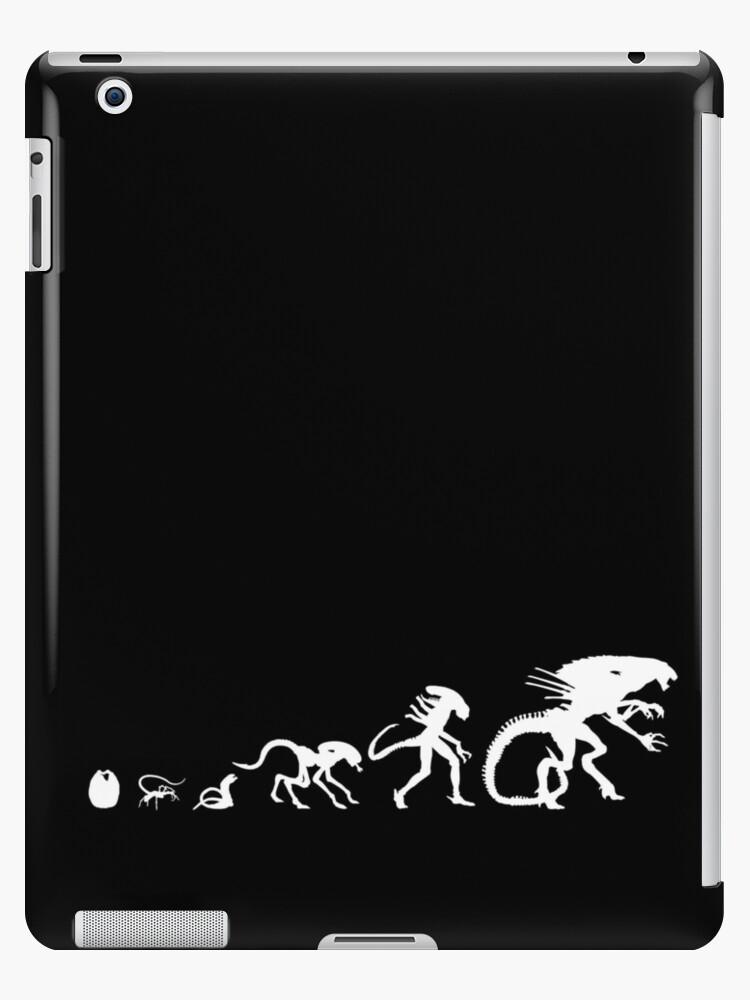 'Evolution of alien xenomorph' iPad Case/Skin by oOMariOo