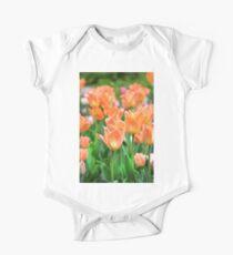 Tulips One Piece - Short Sleeve