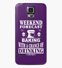 Weekend Forecast: Baking With A Chance Of Drinking Case/Skin for Samsung Galaxy
