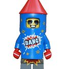 LEGO Firework Guy by jenni460