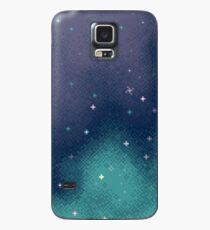 Funda/vinilo para Samsung Galaxy Lila y Aqua Pixel Galaxy