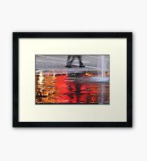 Sea of Flame Framed Print