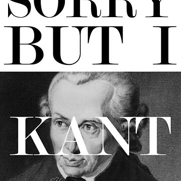 Sorry, but I Kant by bd0m