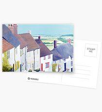 Gold Hill, Shaftsbury. Postcards