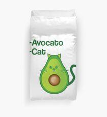 Avocat tee Avogato Addict shirt for avocato and catlover Duvet Cover