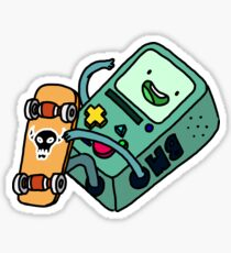 Skateboard BMO Sticker