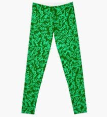 Everlit Script Green Leggings